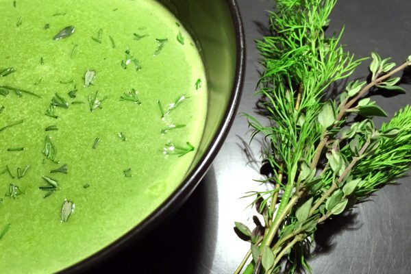 Baby Spinach Soup 2