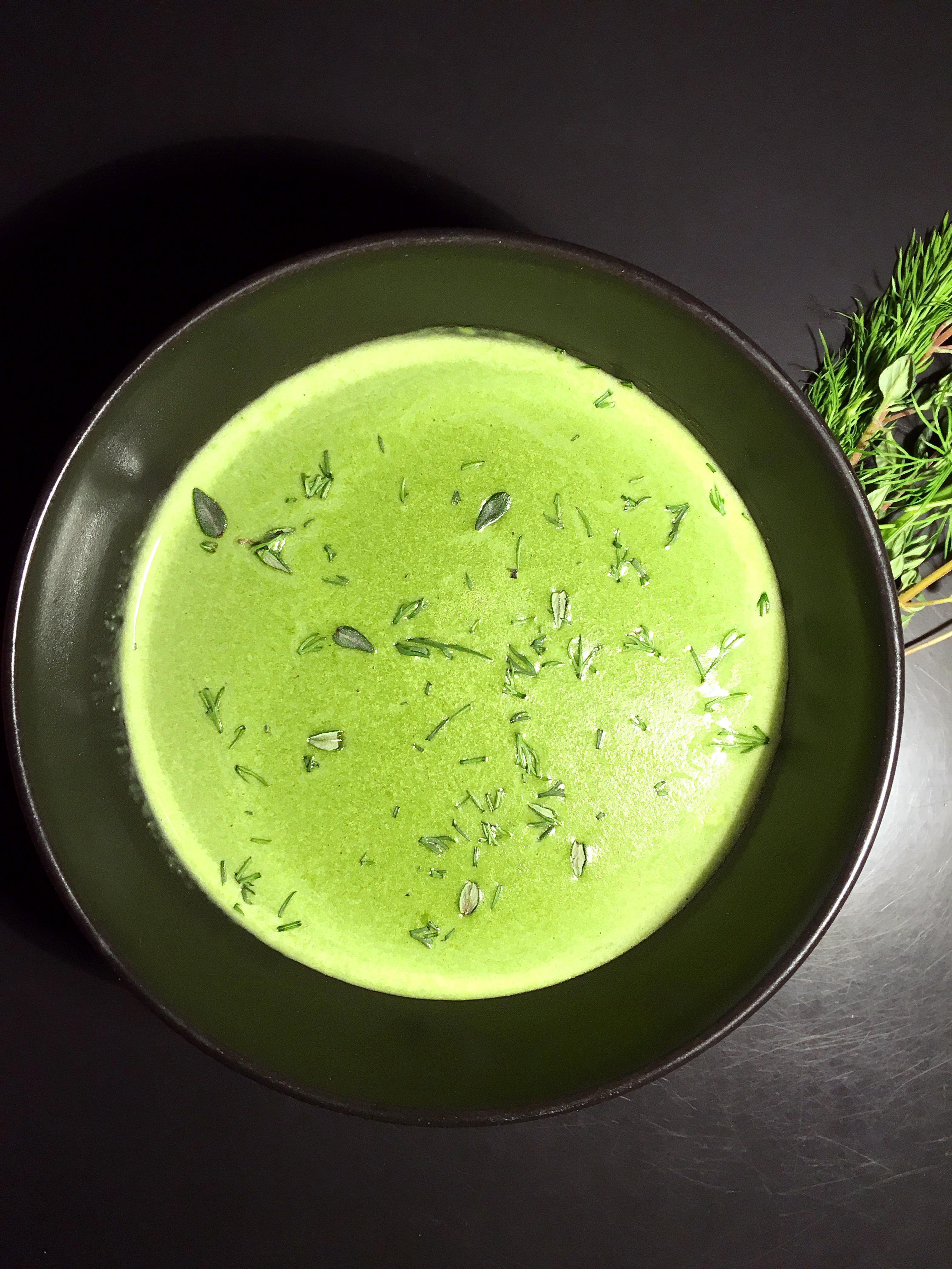 Σούπα με Σπανάκι