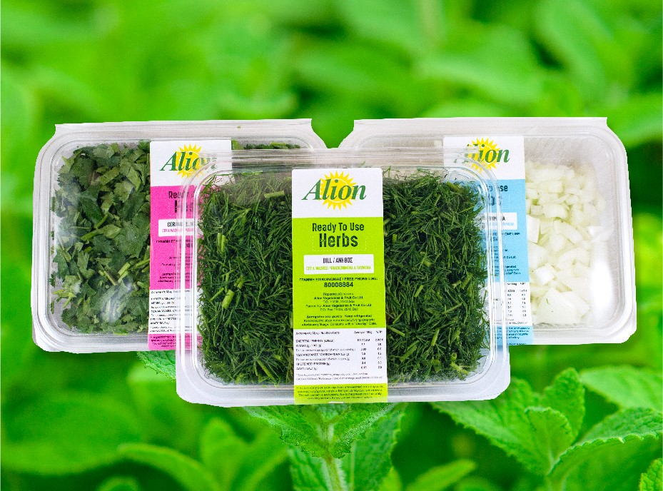 Ready-to-eat Herbs Alion