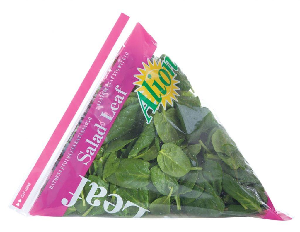 Zip Type Baby Spinach