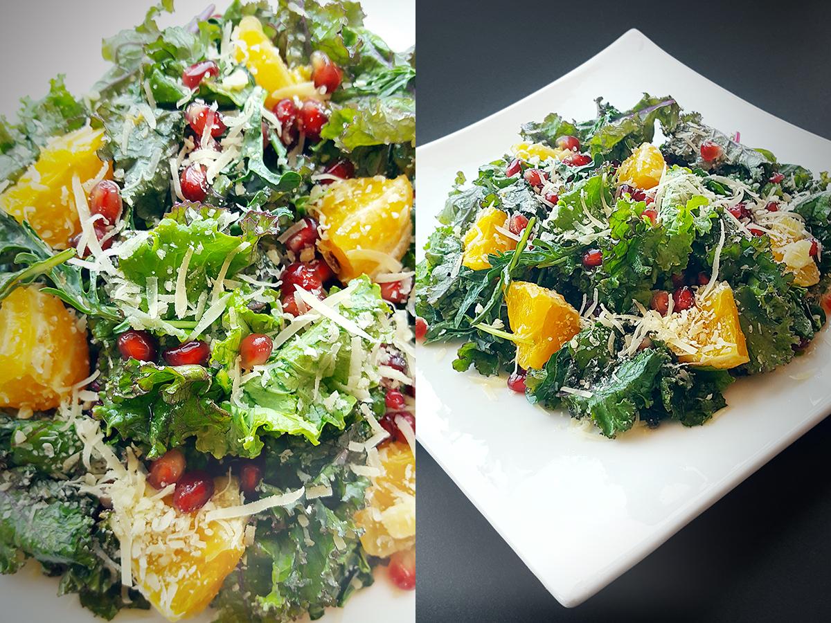 Kale Fruity Salad